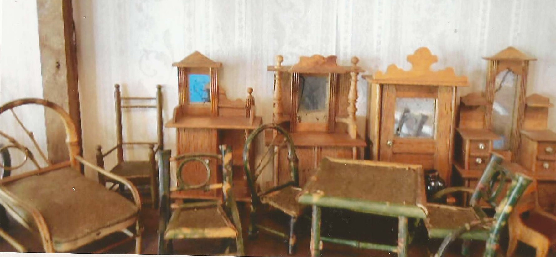 The Bamboo Furniture Reflects Its Popularity From 1870 1930 When Large  Quantities Were Manufactured For American Homes.